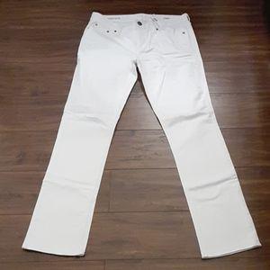 J. Crew Matchstick White Jean's - 29